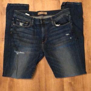 Slim fit Joes jeans distressed